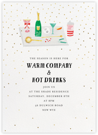 Darling, You Shouldn't Have - Mr. Boddington's Studio - Holiday invitations