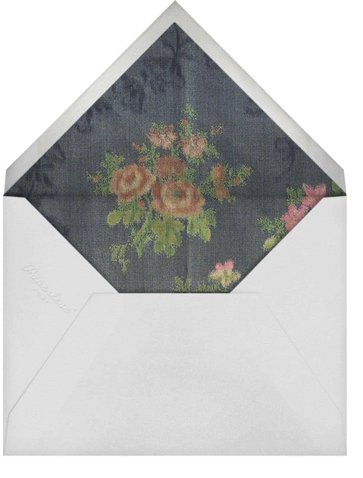 Tatyana Photo - Brock Collection - Christmas - envelope back