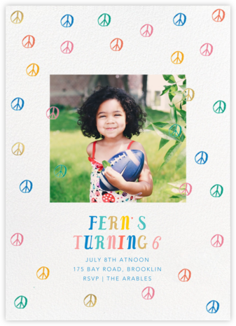 Let's Take a Chance Photo - Multi - Mr. Boddington's Studio - Online Kids' Birthday Invitations