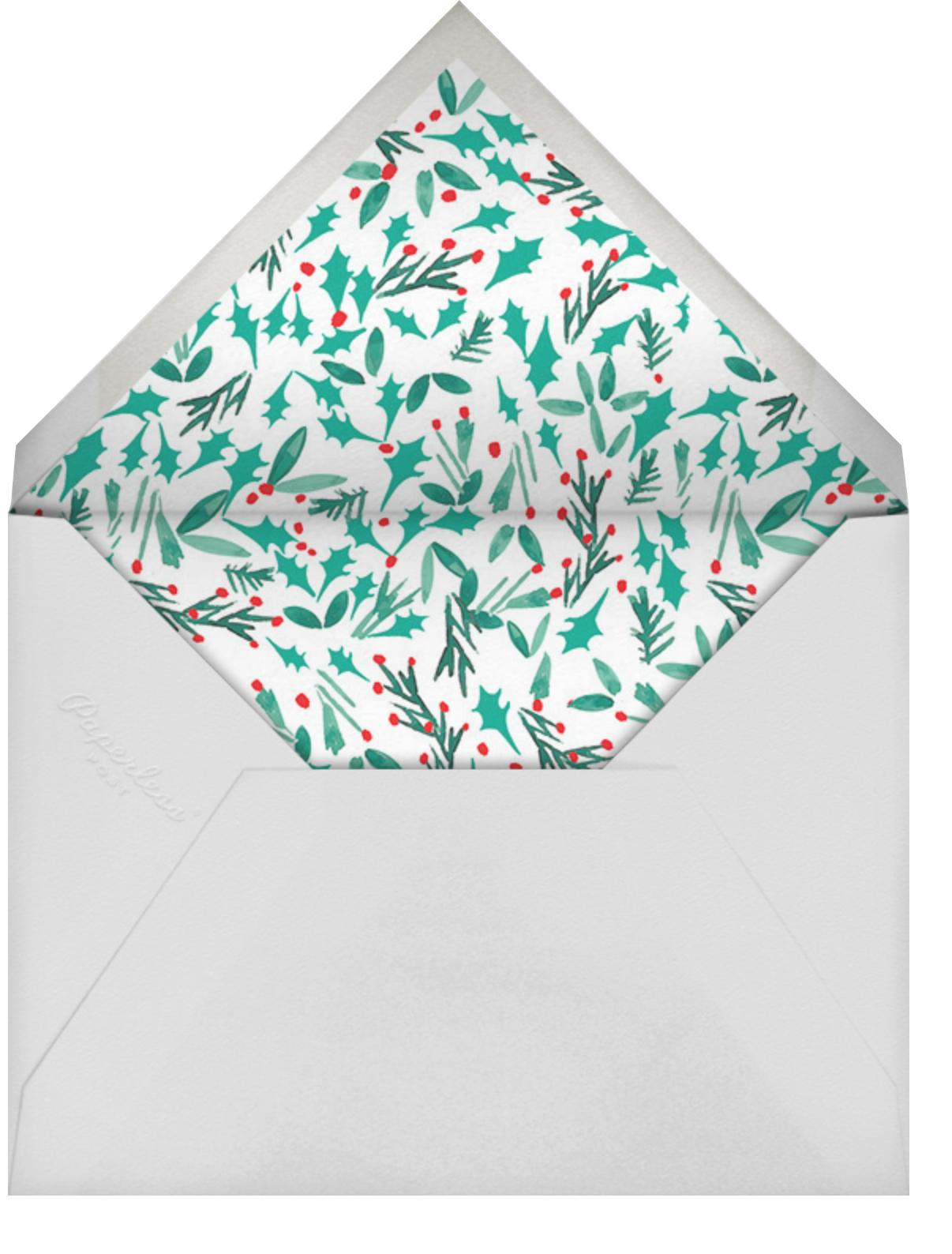 Watch for Reindeer Crossings - Mr. Boddington's Studio - Envelope