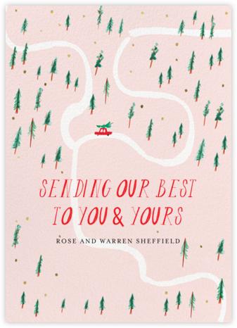 Watch for Reindeer Crossings - Mr. Boddington's Studio - Holiday Cards