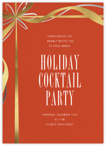 Proudly Present - Paperless Post - Company holiday party
