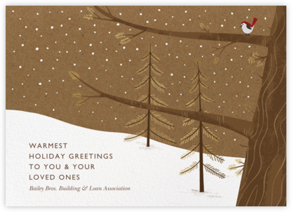 Holiday Songbird - Paperless Post - Holiday Cards
