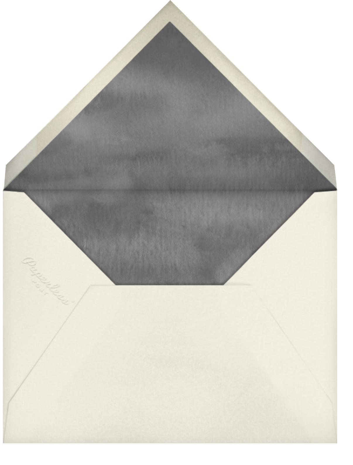 Spring Orchard - Felix Doolittle - Save the date - envelope back