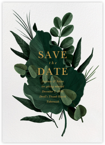 Herrgarde - Paperless Post - Wedding Save the Dates