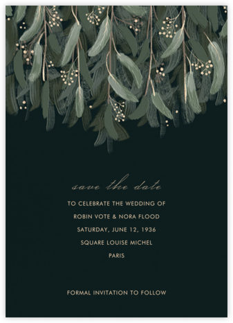 Verdure - Paperless Post - Save the dates