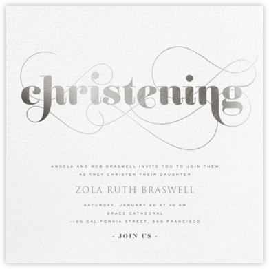 Christening Whirl - Silver - bluepoolroad -