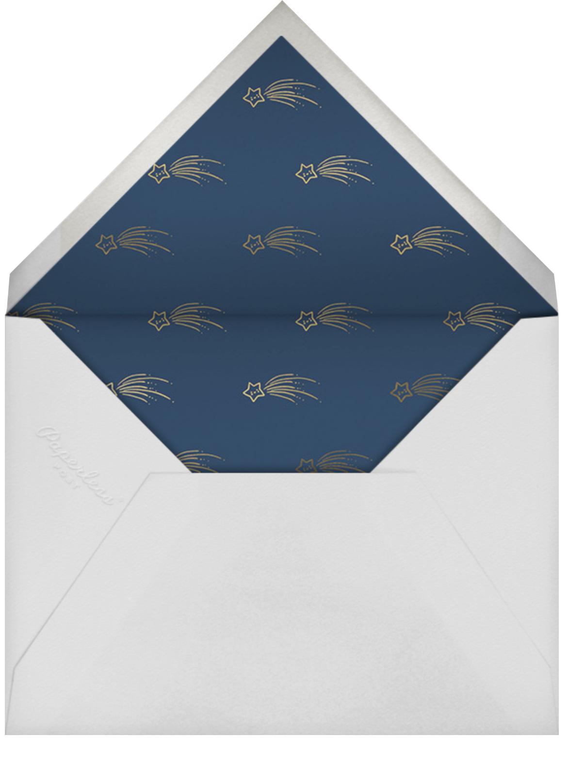 Star Treatment - Little Cube - Thank you - envelope back