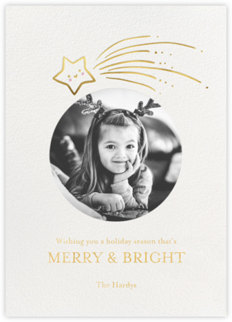 Star Treatment Photo - Little Cube - Holiday Cards