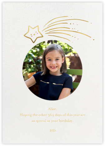 Star Treatment Photo - Little Cube - Greeting cards