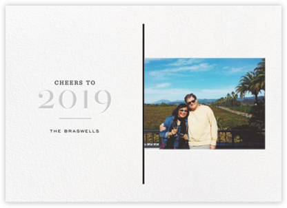 A View of 2019 - Gray - bluepoolroad - bluepoolroad invitations and cards