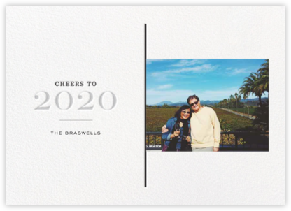 A View of 2020 - Gray - bluepoolroad - bluepoolroad invitations and cards