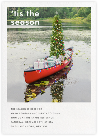 Holiday Canoe - Gray Malin -