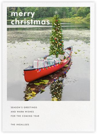 Holiday Canoe | tall