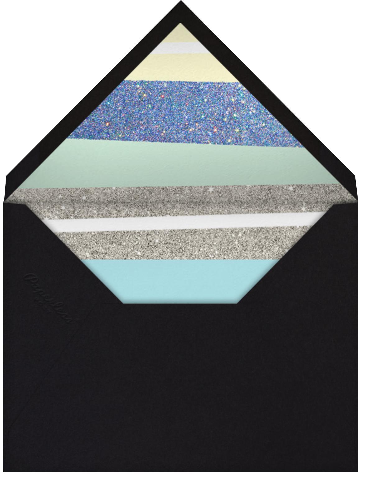 Karaoke Machine - Blue - Paperless Post - Adult birthday - envelope back