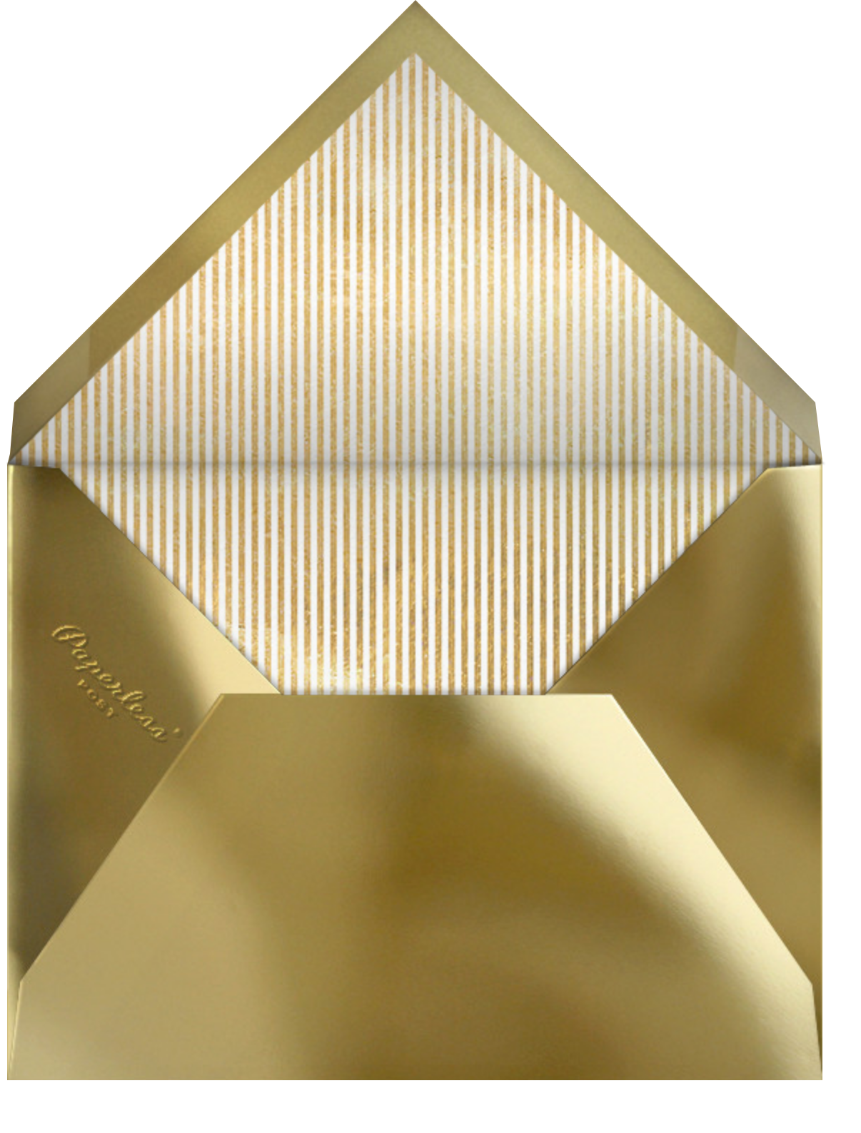 Confetti Flurry - Paperless Post - Company holiday party - envelope back