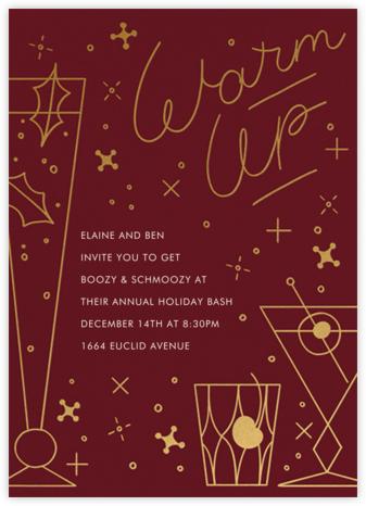 Winter Warmer - Paperless Post - Christmas invitations