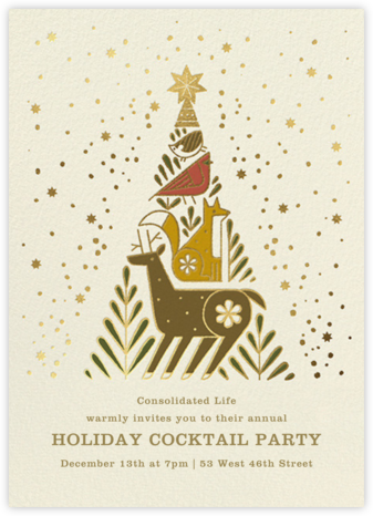 Holiday Totem - Paperless Post - Company holiday party