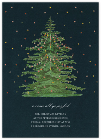 Norway Spruce - John Derian - Invitations