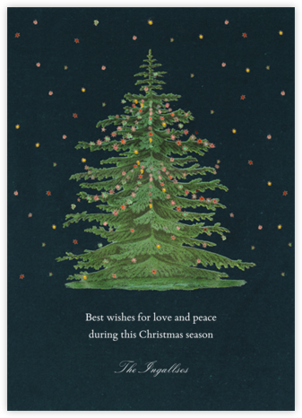 Norway Spruce - John Derian - Online greeting cards