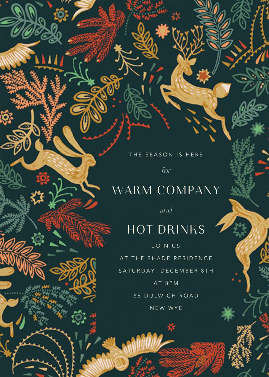 Folk Tails - Spruce - Anthropologie - Invitations
