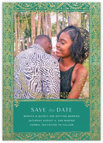 Gilt Toran - Amazon - Anthropologie - Affordable Wedding Invitations