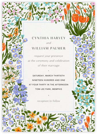 Moor Heather (Invitation) - Anthropologie - Wedding Invitations