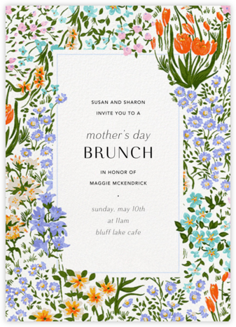 Moor Heather (Tall) - Anthropologie - Mother's Day invitations