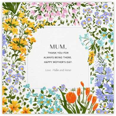 Moor Heather (Square) - Anthropologie - Mother's Day Cards