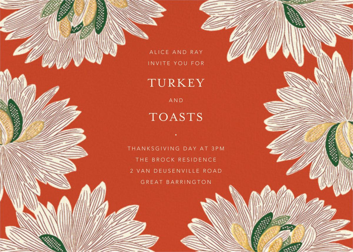 Mumsy - Longhorn - Anthropologie - Thanksgiving invitations