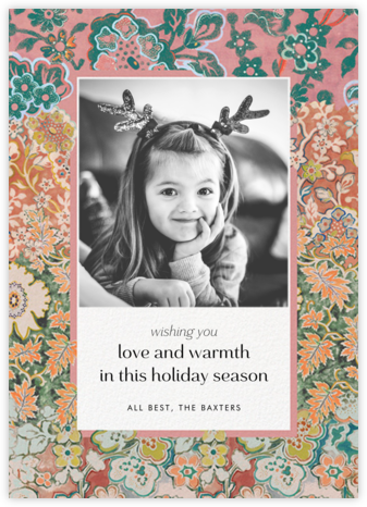Morris Frame Photo - Anthropologie - Holiday Cards