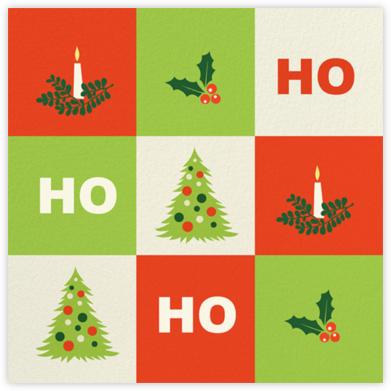 Ho Ho Holly - Paperless Post -