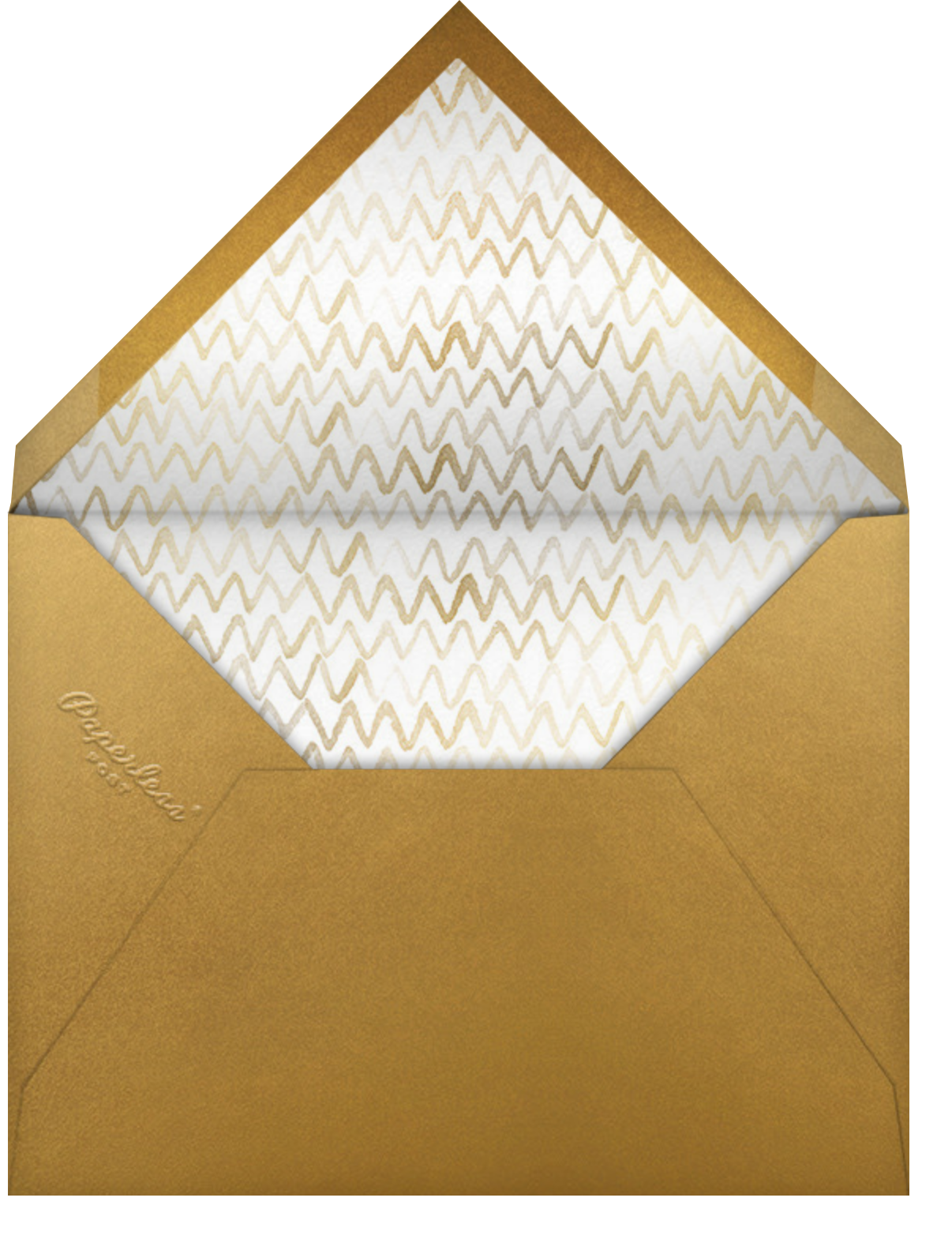 The Golden Fleece - Paperless Post - Company holiday cards - envelope back