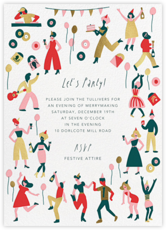 Season's Turn - Hello!Lucky - Holiday invitations