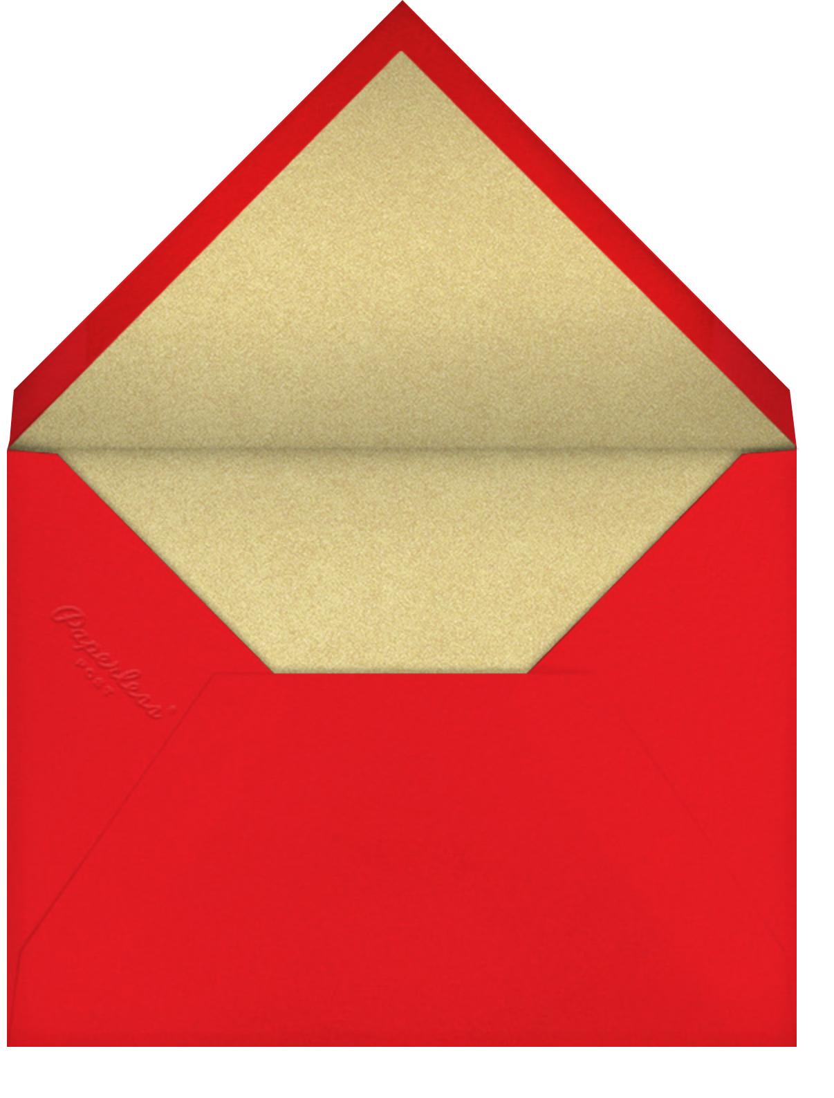 Red Pocket Fortune - Paperless Post - Envelope