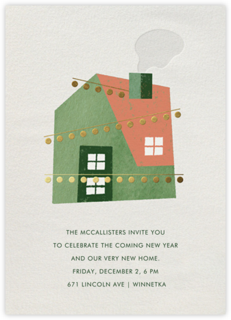 Holiday House Party - Paperless Post - Housewarming party invitations