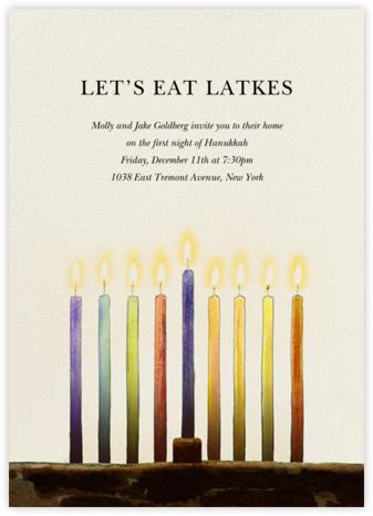 Urim - Felix Doolittle - Hanukkah Invitations