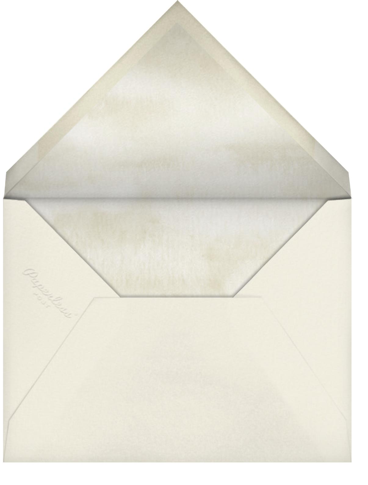 Urim - Felix Doolittle - Hanukkah - envelope back