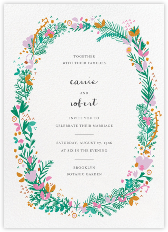 Miss Ivy (Invitation) - Mr. Boddington's Studio - Wedding Invitations