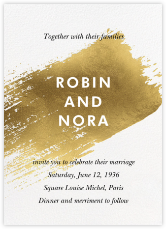 Impasto (Invitation) - Paperless Post - Wedding invitations