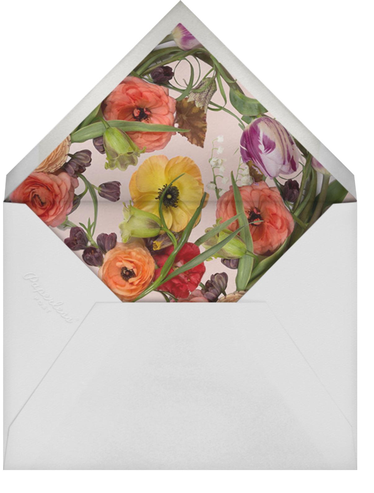 Fructidor - Putnam & Putnam - Bridal shower - envelope back
