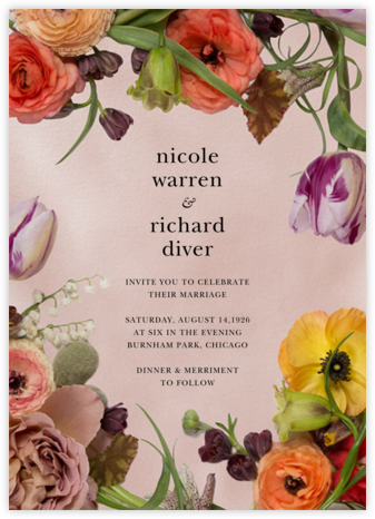 Fructidor - Putnam & Putnam - Bridal shower invitations