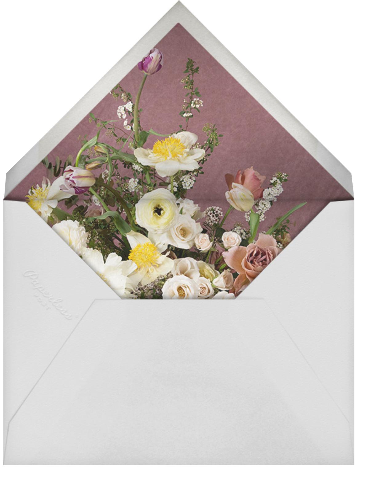 Messidor - Putnam & Putnam - Bridal shower - envelope back