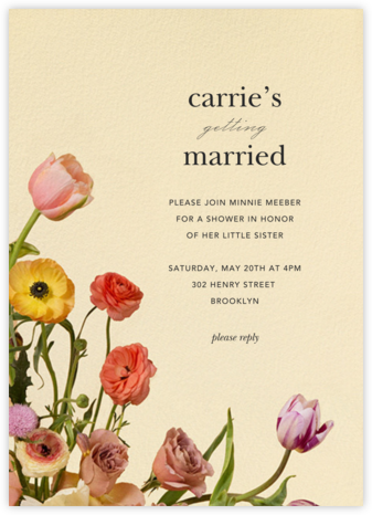 Prairial - Putnam & Putnam - Bridal shower invitations