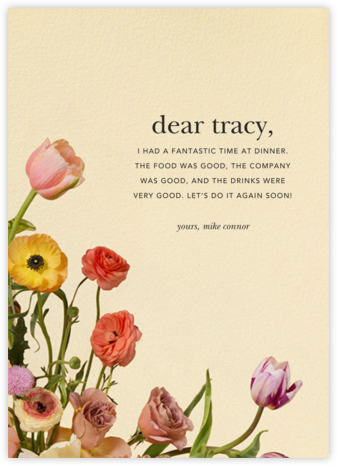 Prairial - Putnam & Putnam - Online Thank You Cards