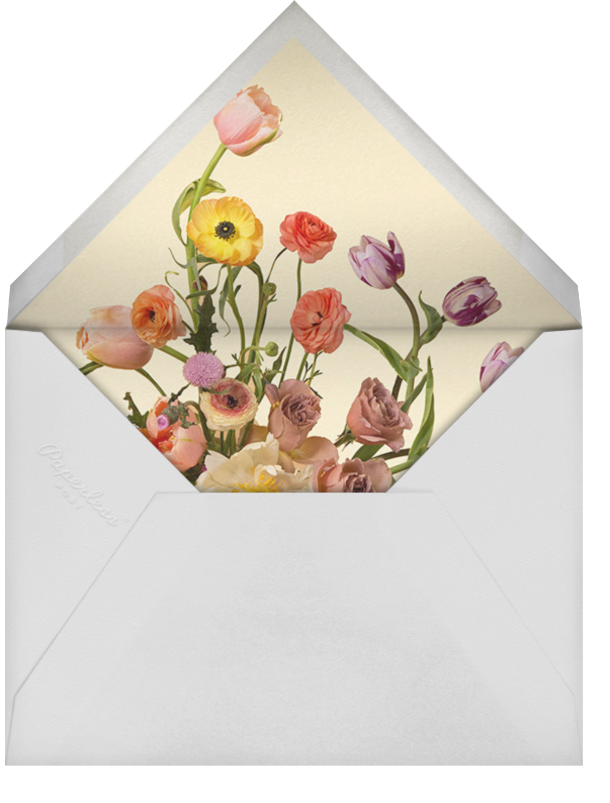 Prairial Photo - Putnam & Putnam - Engagement party - envelope back