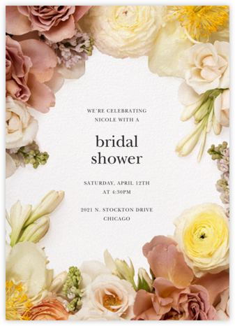 Pluviôse - Putnam & Putnam - Bridal shower invitations
