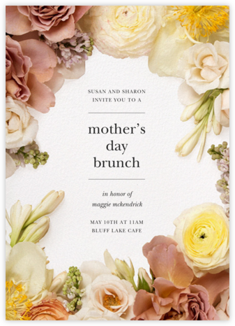 Pluviôse - Putnam & Putnam - Online Mother's Day invitations