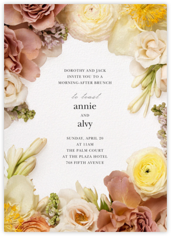 Pluviôse - Putnam & Putnam - Wedding Weekend Invitations