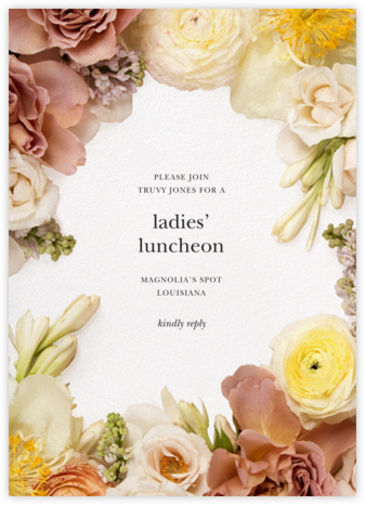 Pluviôse - Putnam & Putnam - Brunch invitations